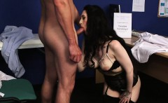 Wicked model gets sperm shot on her face swallowing all the
