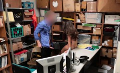 Teen thief strip searched