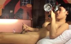 Ladyboy Yuki Masturbating