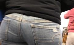 Hotties in Stockings - Honest BBW Warm butt yoga shorts leg