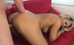 Stacked Chennin enjoys every stroke of her stepson's dick in her cunt