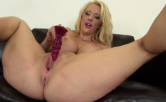Courtney Taylor Busty and Blonde Solo