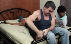 Asian Twink Alex Tickled and Stroked