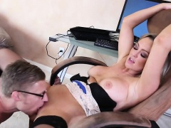 Work From Home Fun Abbey Brooks
