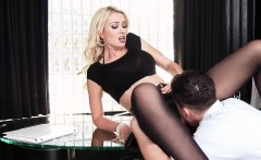 Sexy Hot Busty Blonde Boss Rides Young Cock Gigi Allens