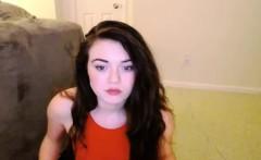 Cute Teen Gets Naked And Masturbates