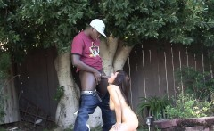 Hot interracial fucking with pretty Shavon Taylor