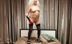 Blonde Granny Cam 1