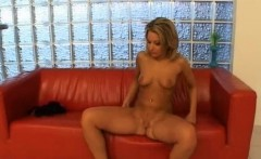 Sexy Camille seductively playing with her fave dildo