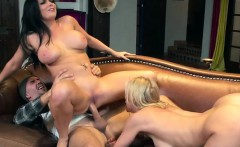 Luscious Cougars Share Well Hung Widower