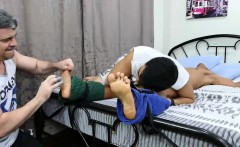 Twink Asian Boy Rizal Tied and Tickled