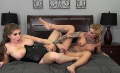 Alex Chance and Kleio Valentien Fucking LIVE