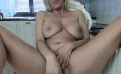 Hottest Blonde Mom Hottie Amazing Cam Show
