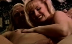 Busty retro babe pussyfucked and cumsprayed