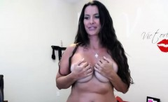 Amazing Solo Show With Excited Curvy Milf