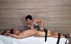 Twink Asian Boy Jordan Tied and Tickled