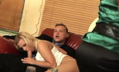 kinky orgy session with classy sex bombs