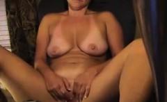 Busty MILF Brunette Masturbate