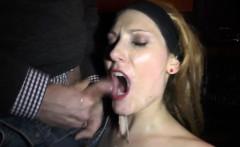 Slutwife Nicole frequently gangbanged by plenty of cocks