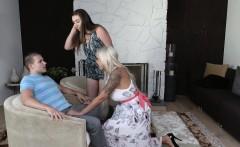 BadMILFS- Hot Blonde Stepmom Seduces Young Boyfriend