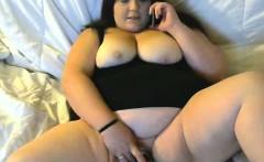 Cute BBW Webcam Slut Masturbating