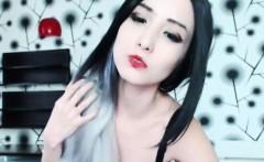 Slutty Asian Camgirl Entertains On Cam