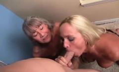 Experienced cock-sucker MILFS Dani Dare and Leilani Ley