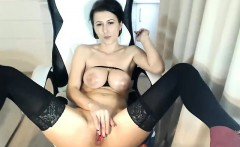Hot Milf Masturbating On Webcam