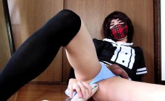Asian Shemale Solo Masturbation