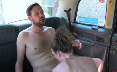 Real taxi babe fucked and pussylicked nicely