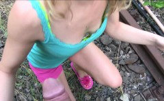 PublicAgent Dirty Diana gets fucked outdoors in the sunshine