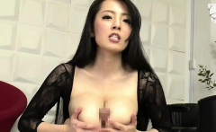 Busty asian with big tits tit fucking