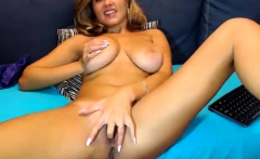 Sexy redhair with hot boobs fingering 2