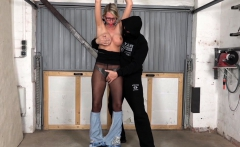 Jacky Submissive is humiliated and fucked