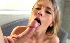 Hot model takes a dick deep