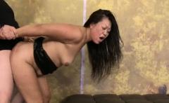 Chubby Asian MILF Jeanna Silks Fucks 2 Men