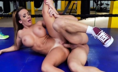 Ricelle Ryan In Busty Babe Goes Boxing