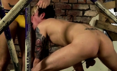 Male bondage fisting gay Fucked And Fed Over And Over