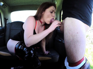 Fake Taxi Curvy big tits with ginger bush pussy wants cock