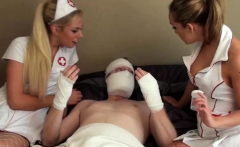 Slutty Nurse Chicks Gave a Blowjob