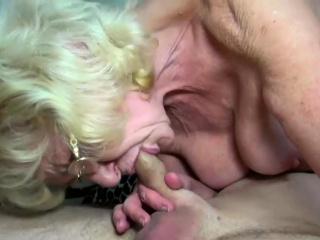 Blonde Granny Needs Some Dick Too