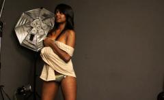 Dark Skin Charmign Tantric Indian Babe Gauri In Nude
