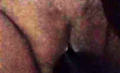 Fat hairy pussy getitng played around with close up