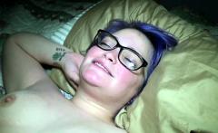 Chubby amateur gets ass fucked