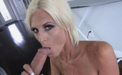 My deviant stepmom dropped to her knees and sucked my cock