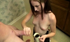Joey Is Pissed. Her Gf Kali Fucked Up His Coffee Again By