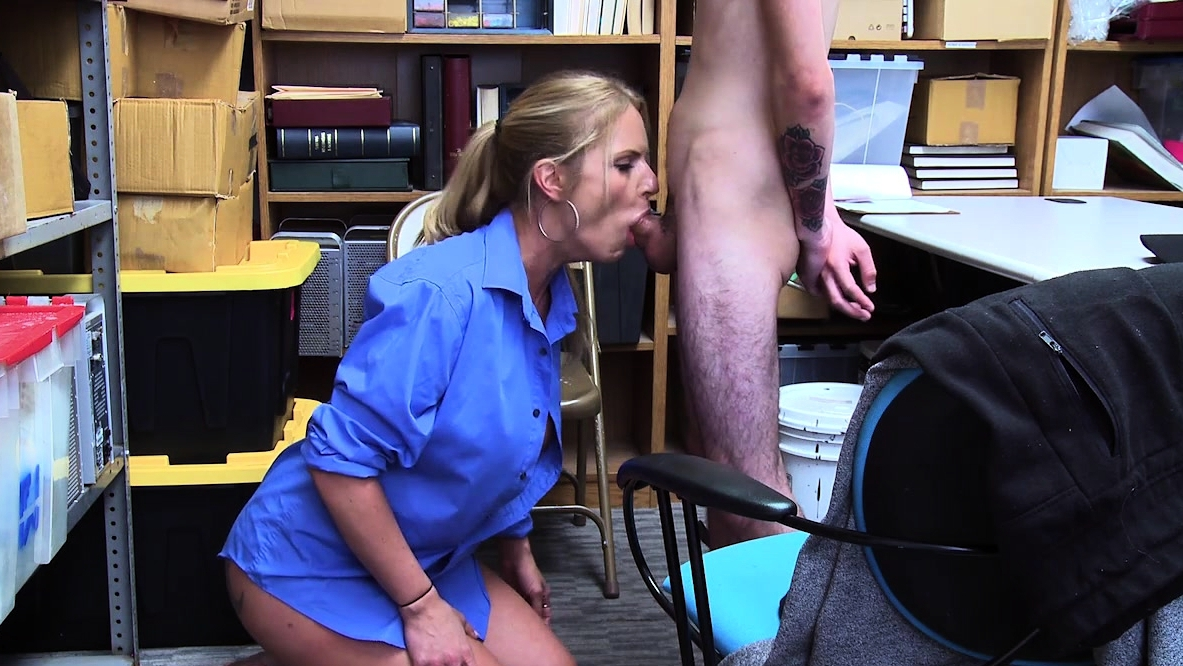 Busty Security Woman Wants To Feel A Big Cock Insade Her