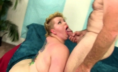 Heavyweight Harlot Is Fucked by a Chubby Chaser