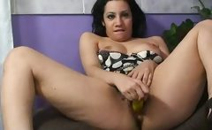 Hairy Teen Chick Toy Fucking