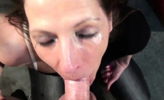 Beautiful girl likes to suck a dick